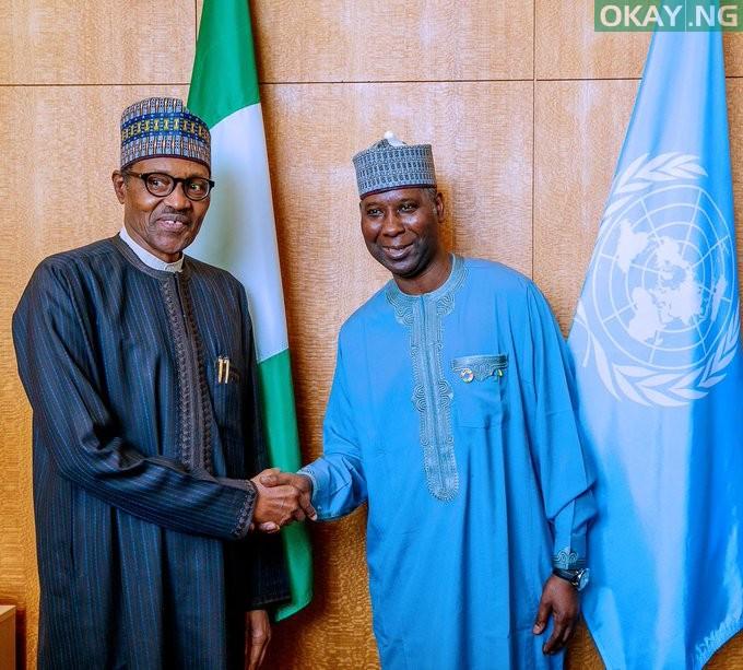 Photo of Buhari meets UNGA President Muhammad-Bande in New York