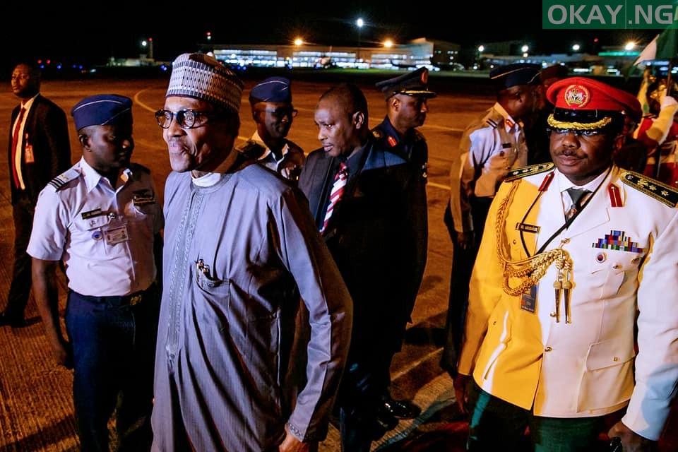 President Muhammadu Buhari returns to Abuja after 74th UNGA in New York
