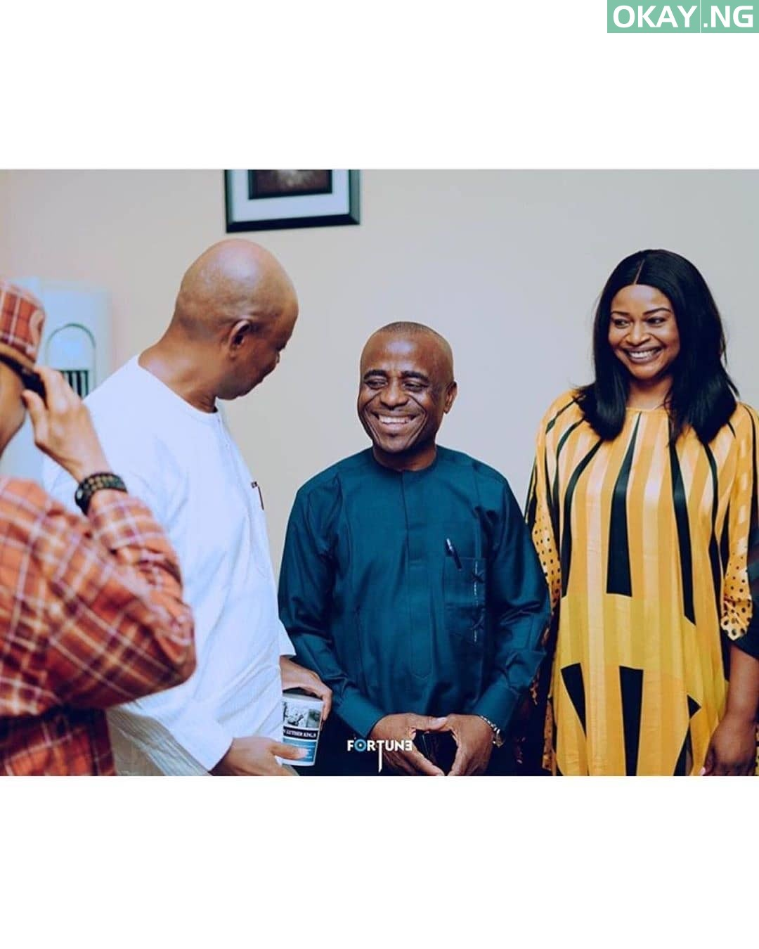 Official Pictures: Davido and Chioma's marriage introduction