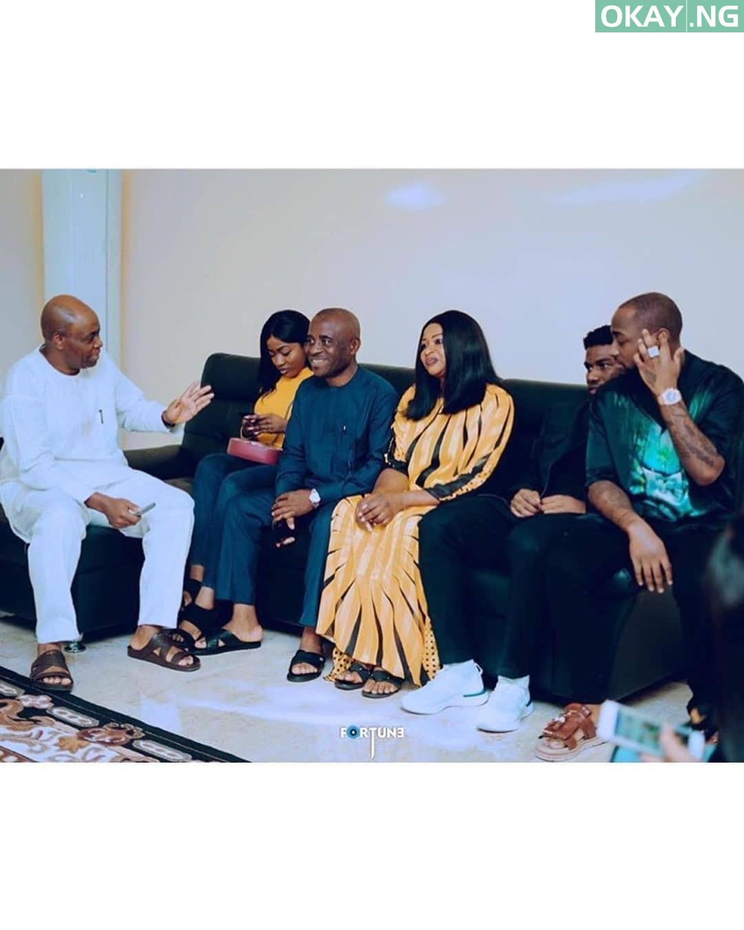 #Chivido2020: Davido and Chioma's marriage introduction [Official Photos]