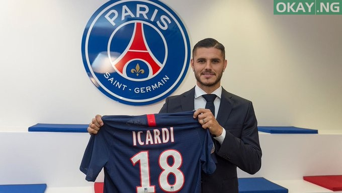 Photo of Inter Milan striker Mauro Icardi joins PSG on a season-long loan