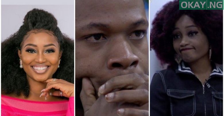 Photo of Frodd in tears as Esther gets evicted from BBNaija house