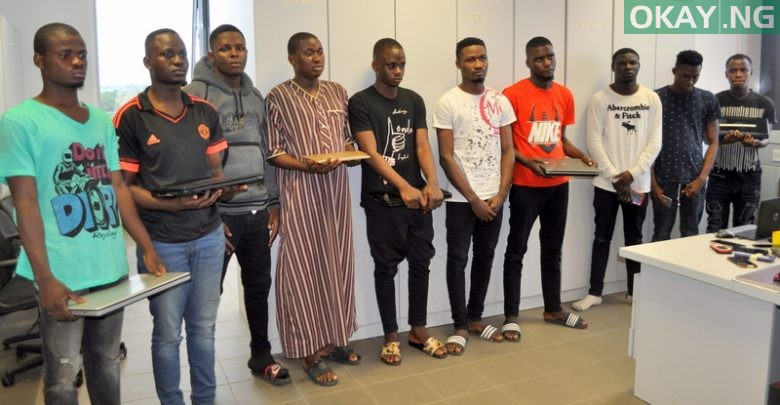 Photo of 25 LAUTECH students in EFCC net for alleged fraud (Photos)