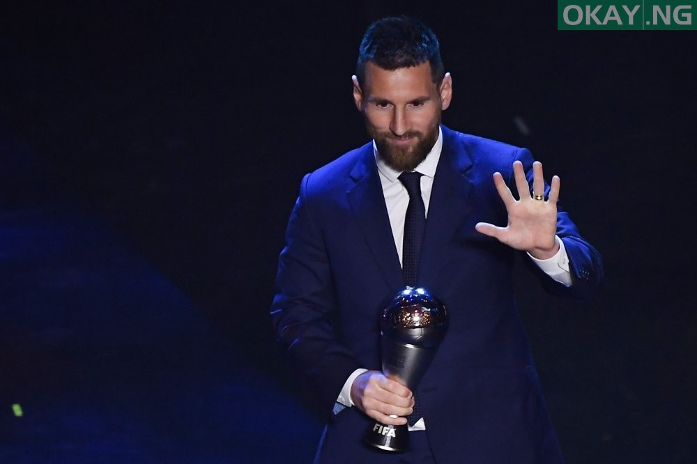Photo of Messi beats Ronaldo, Virgil van Dijk to win Best FIFA Men's Player Award 2019