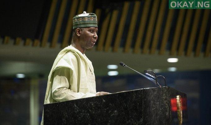 Photo of Nigeria's Muhammad-Bande sworn in as 74th UNGA president