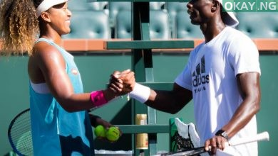 Naomi Osaka and Jermaine Jenkins