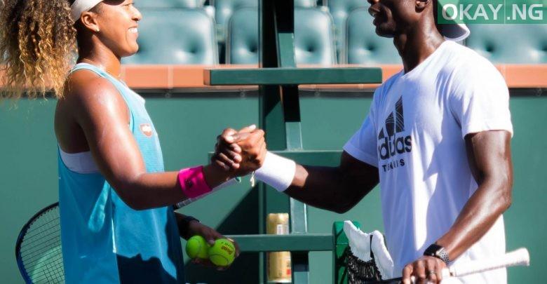 Naomi Osaka and Jermaine Jenkins