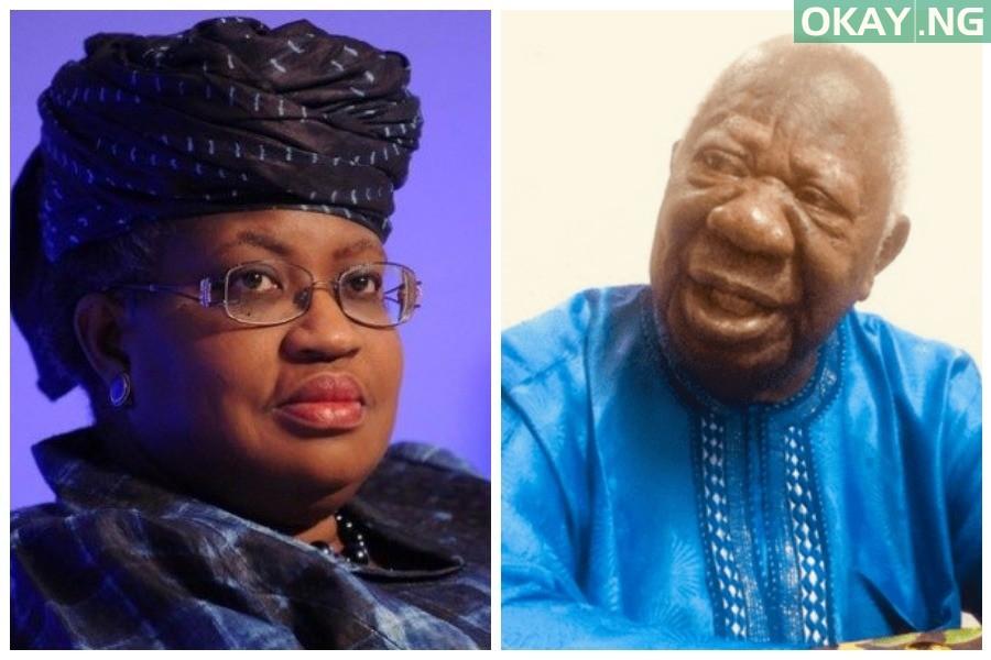 Ngozi Okonjo-Iweala and her late father, Chukuka Okonjo