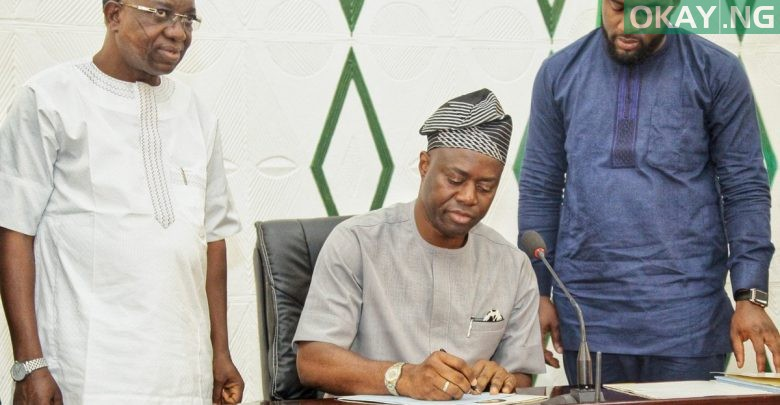 Photo of Seyi Makinde cuts down Oyo 2019 budget from N285bn to N182bn