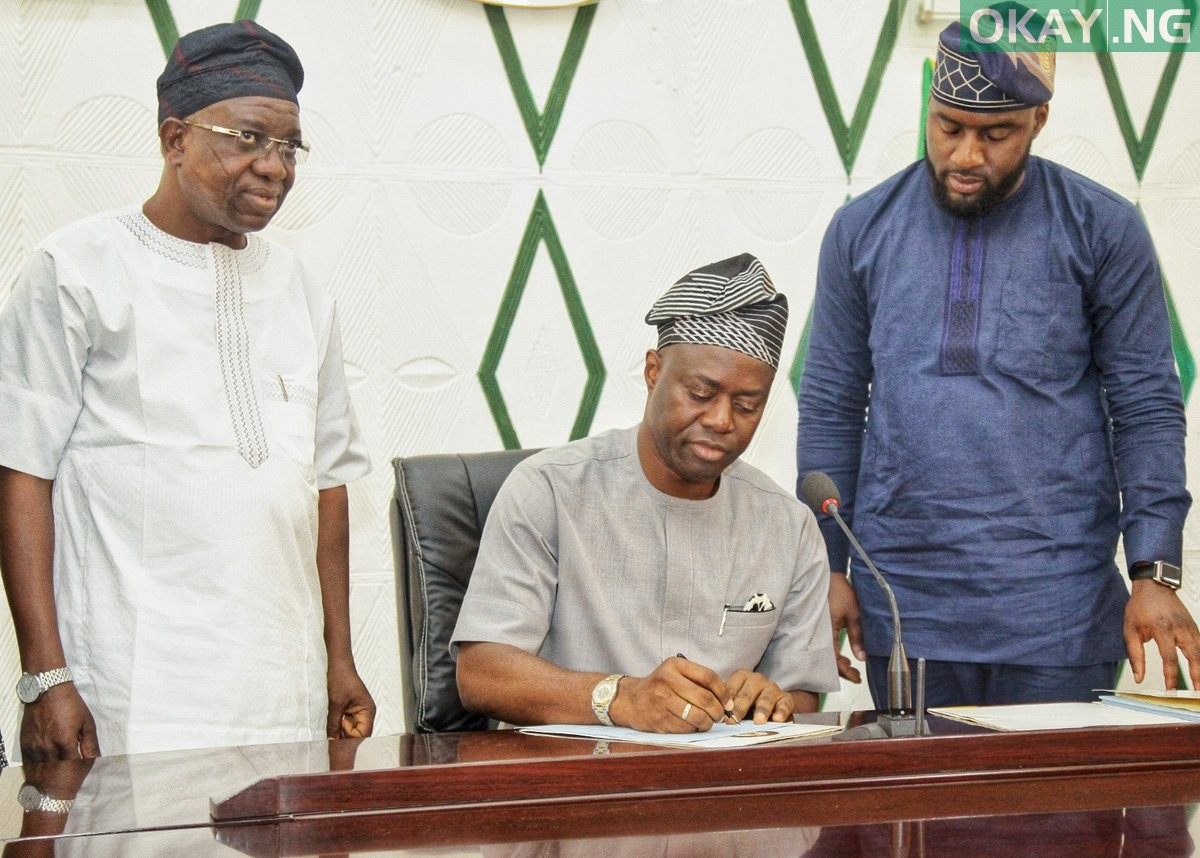 Seyi Makinde cuts down Oyo 2019 budget from N285bn to N182bn
