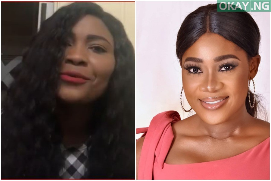 Sonia Ogiri and Mercy Johnson