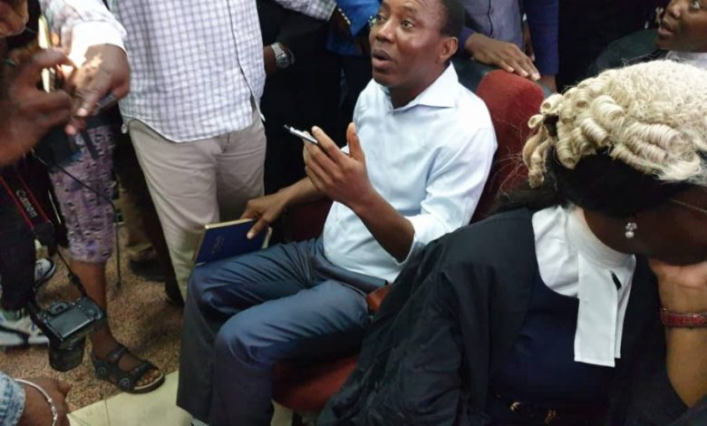 Photo of Sowore pleads not guilty to seven-count charge