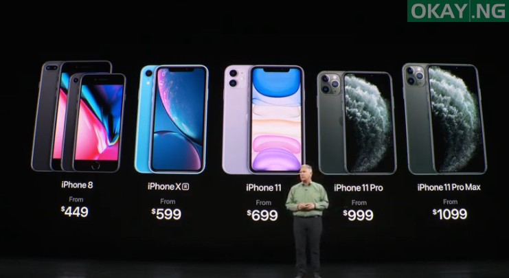 Photo of Apple unveils new iPhone 11 series — Pro, Pro Max