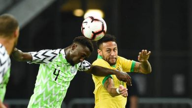 Photo of Brazil-Nigeria friendly ends in 1-1 draw