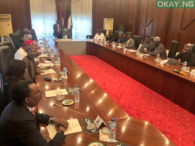 Buhari holding meeting with Economic Advisory Council (EAC)