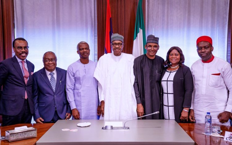 Photo of IN PICTURES: Buhari's meeting with members of Economic Advisory Council