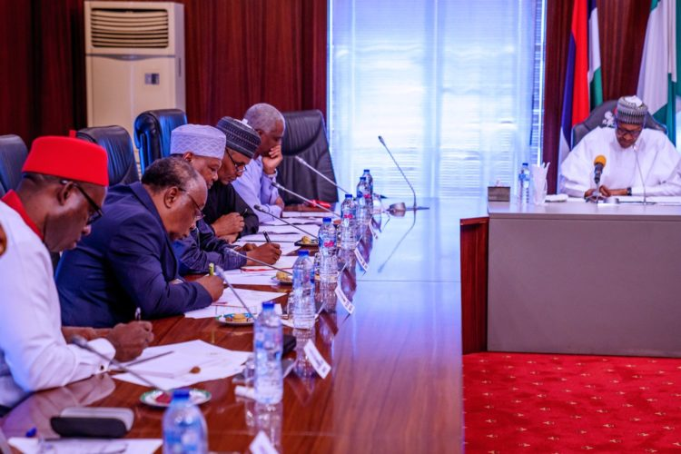 Buhari's meeting with members of Economic Advisory Council