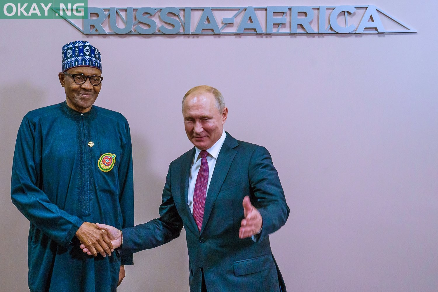 Photo of Details of Buhari's meeting with Putin in Russia emerge (Pictures)