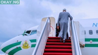 Photo of Buhari heads to Russia for summit (Pictures)
