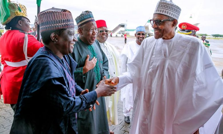 Photo of Buhari congratulates Ganduje, Lalong on victories at tribunal