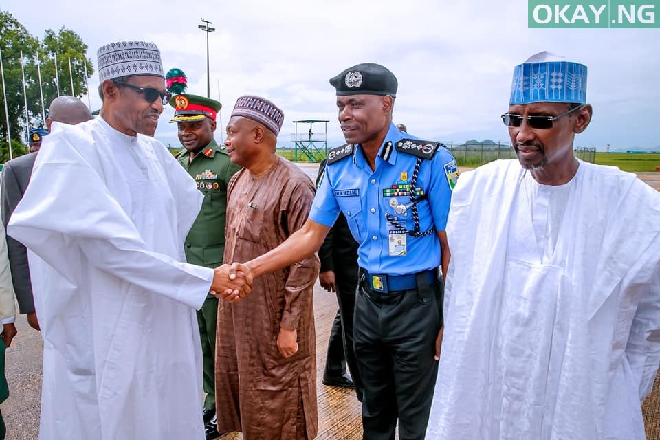 Buhari departs Abuja for South Africa