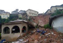 Photo of Collapsed building kills mother, three children in Magodo, Lagos