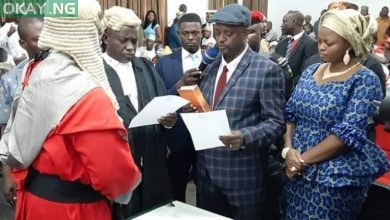 Photo of Kogi: Edward Onoja sworn in as state deputy governor (Pictures)