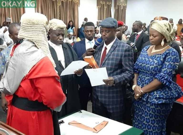 Edward Onoja sworn in as Kogi deputy governor