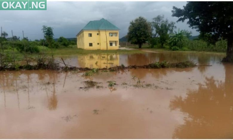 Photo of Flood aids escape of 228 prison inmates in Kogi