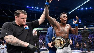 Photo of Israel Adesanya becomes new UFC middleweight champion (Photos)