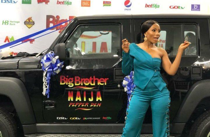 Photo of BBNaija's Mercy presented with SUV, named as Innoson motors brand ambassador