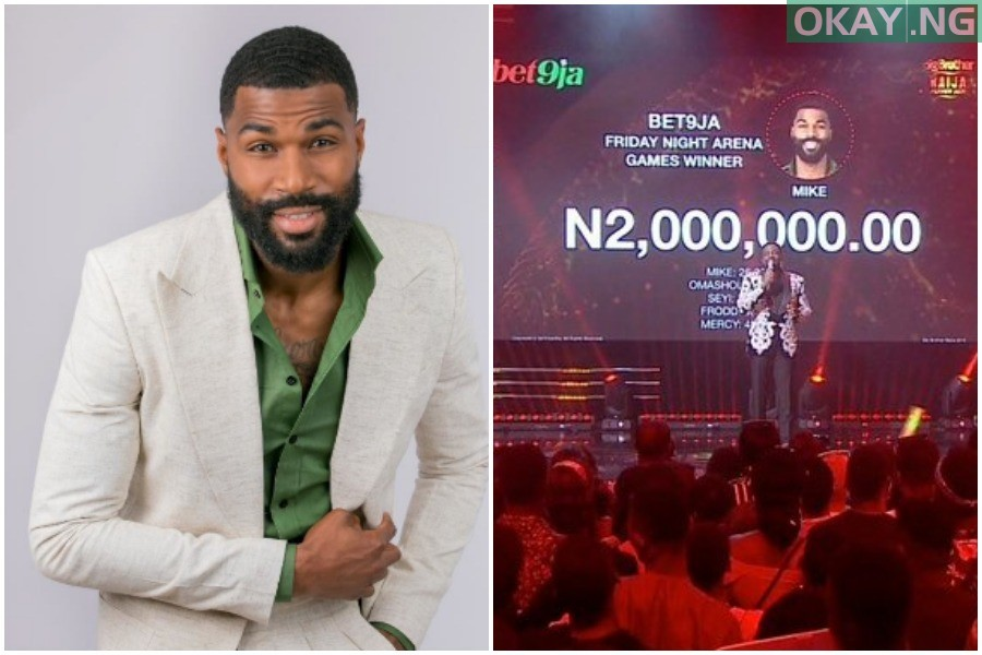 Mike wins 2 million Naira