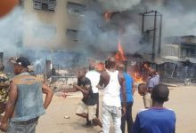 Photo of Fire guts Onitsha market as fuel tanker explodes (Video)