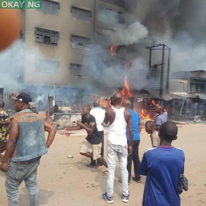 Fire guts Ochanja Market