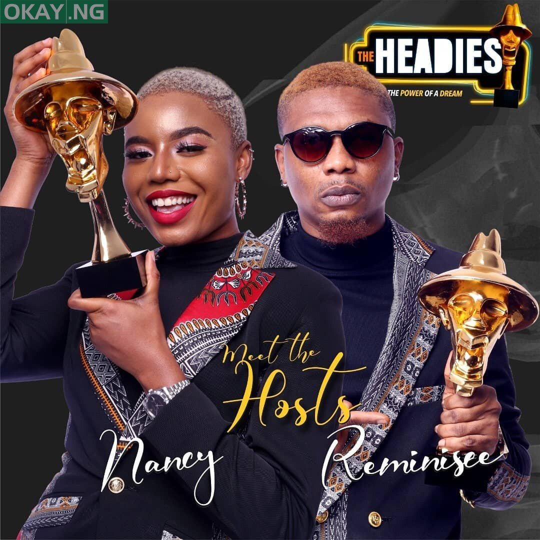 Nancy Isime and Reminisce (The Hosts)