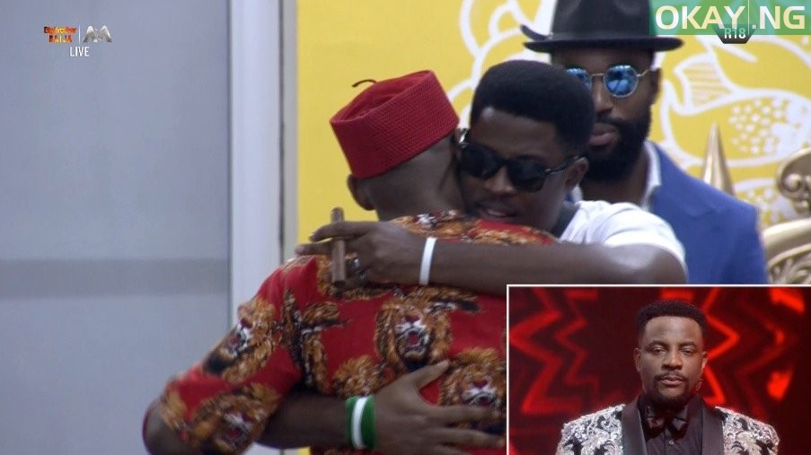 Seyi evicted