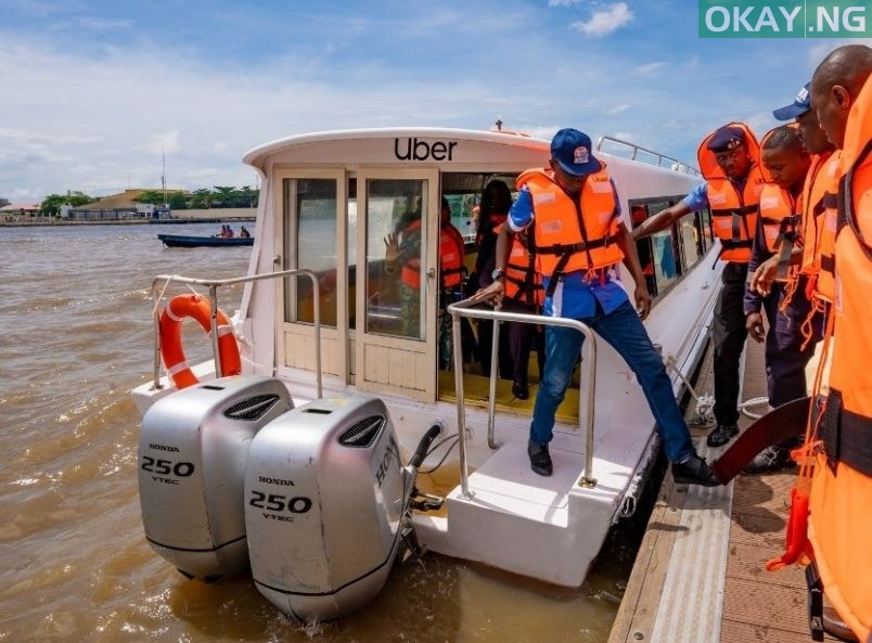 UberBOAT launches in Lagos
