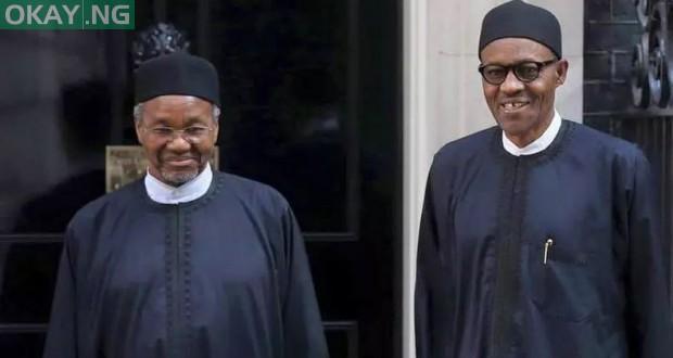 Mamman Daura and President Muhammadu Buhari