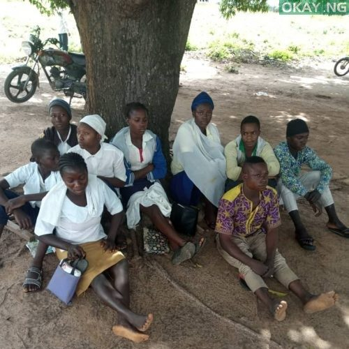 Kidnapped schoolgirls and 3 motor touts
