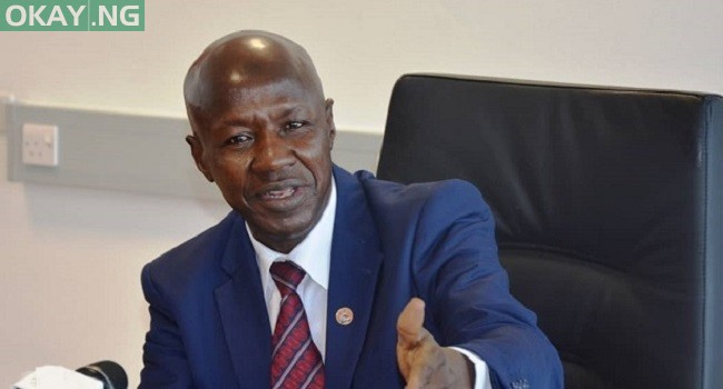 Photo of EFCC: Magu honoured panel's invitation, not arrested