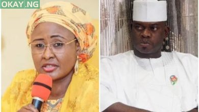 Photo of Forgive Yahaya Bello for delay of workers' salaries — Aisha Buhari to Kogi people