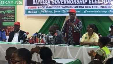 Photo of LIVE RESULTS from Bayelsa governorship election collation centre