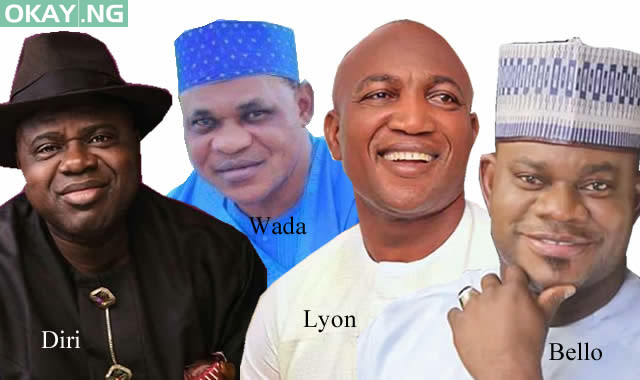 Top four candidates in Kogi, Bayelsa elections