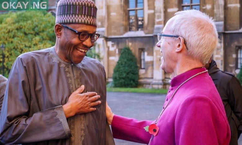 Photo of Buhari pays visit to Archbishop of Canterbury in London (Photos)