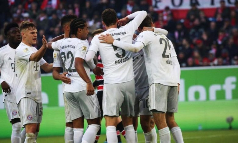 Photo of Bayern Munich beat Fortuna Dusseldorf 4-0 to maintain title hope