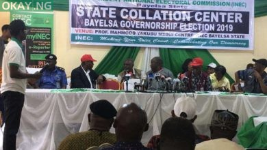 Photo of LIVE: INEC collates results for 2019 Bayelsa governorship election