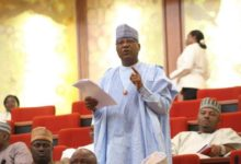Photo of IN SENATE: Lawan swears in PDP's Danbaba