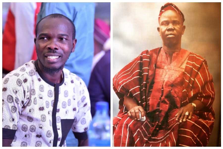 Ijebuu and his late father, PA Kolawole Bafunbi