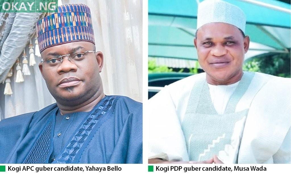 Yahaya Bello and Musa Wada