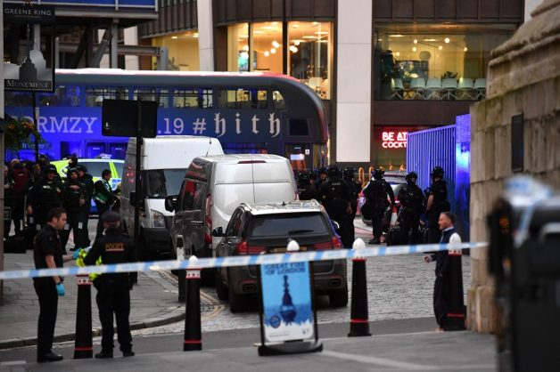 Photo of Two killed in stabbing attack near London bridge